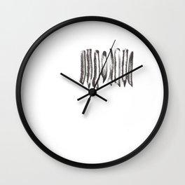 Bacon Coven Wall Clock