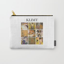 Klimt - Collage Carry-All Pouch