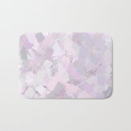 Abstract Painted Brush Strokes Bath Mat