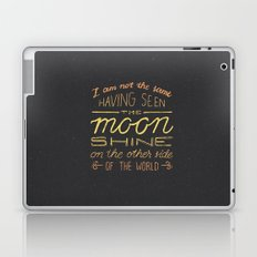 moon quote Laptop & iPad Skin