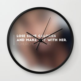 Blur Beauty Wall Clock