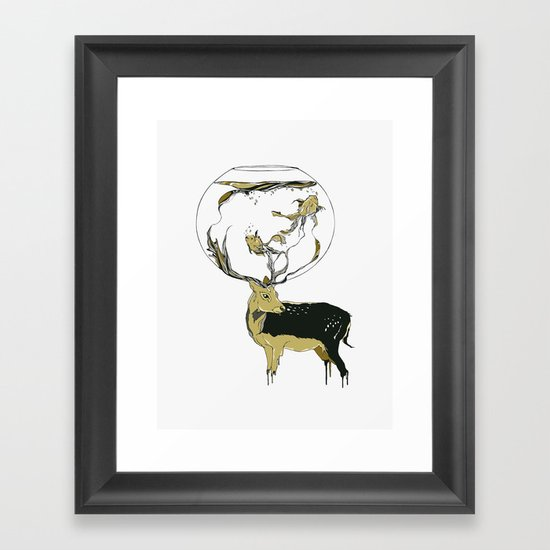 Revolve Framed Art Print