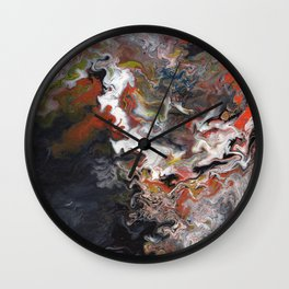Abstract Oil Painting 16 Wall Clock