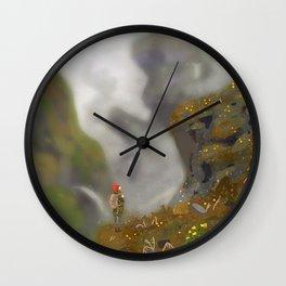 hiking Wall Clock