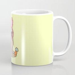 Pug dog in a rabbit costume Coffee Mug