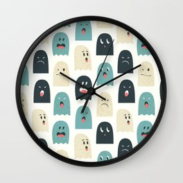 Company of lovely monsters Wall Clock