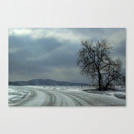 Iceroad Canvas Print