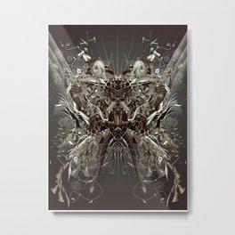Tank Deconstruction Metal Print