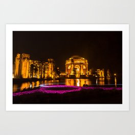 Palace of Fine Arts - San Francisco Art Print