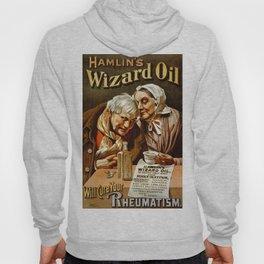 Vintage poster - Hamlin's Wizard Oil Hoody