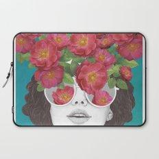 The optimist // rose tinted glasses Laptop Sleeve
