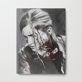 It can't be for nothing - Ellie from The Last of Us 2 Metal Print