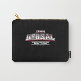Team BERNAL Family Surname Last Name Member Carry-All Pouch