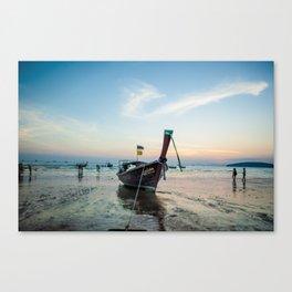 Thailand Sunset Canvas Print