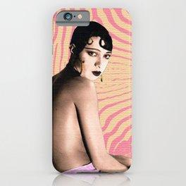 PINK ZEBRA & BLACK GAZELLE iPhone Case