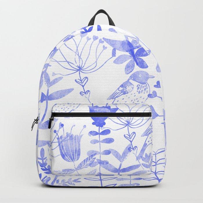 Abstract Botanical Garden III Backpack