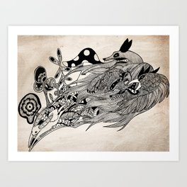 Watership Down  Art Print