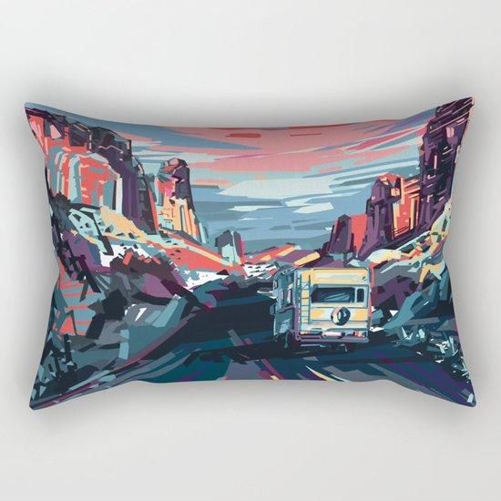 american landscape 4 Rectangular Pillow
