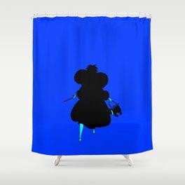 DeVil Always Wins Shower Curtain