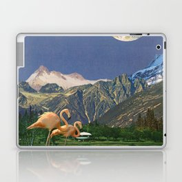 Life Is A Flamingo Laptop & iPad Skin
