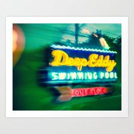 Deep Eddy Swim Neon Sign Art Print