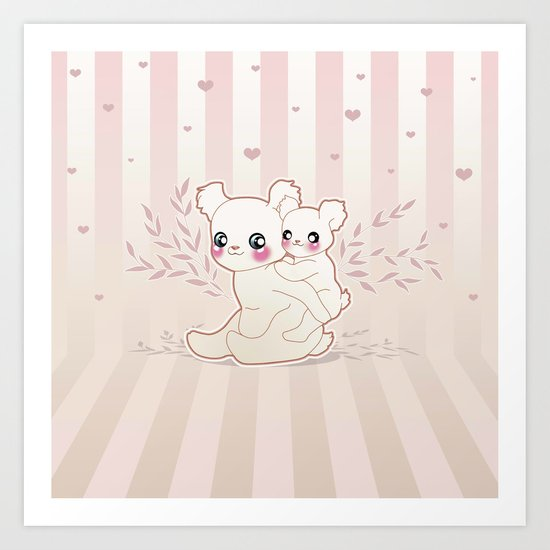 Kawaii Art Print