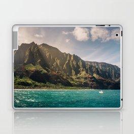 Na Pali Coast Kauai Hawaii Printable Wall Art | Tropical Beach Nature Ocean Coastal Travel Photography Print Laptop & iPad Skin