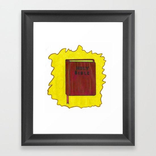 Holy Bible Framed Art Print