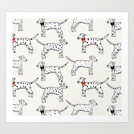 Dalmatians Art Print