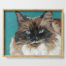Tipper the Cat Portrait Serving Tray