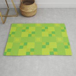 Green Squares Rug