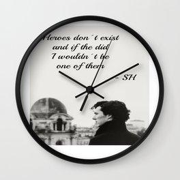 Sherlock Season 2 Wall Clock