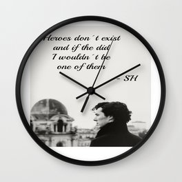 Sherlock Season 2 Wall Clock