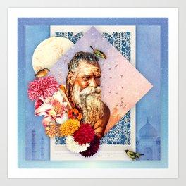 Reflection: Part II :: Fine Art Collage Art Print