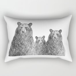 Bear Hug Rectangular Pillow