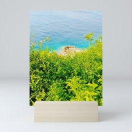 Summer Sea Green Mini Art Print