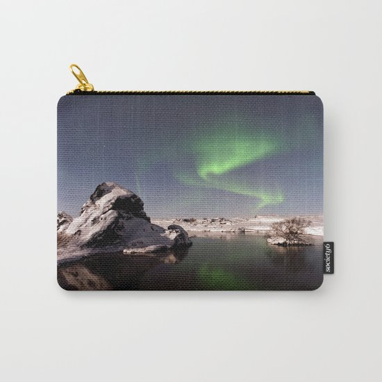Iceland in Winter Carry-All Pouch