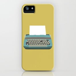 Just My Type iPhone Case
