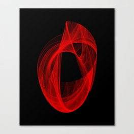 Ring Unraveling I Canvas Print
