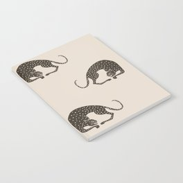 Blockprint Cheetah Notebook