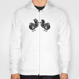 Mr and Mrs Dodo | Black and White Hoody