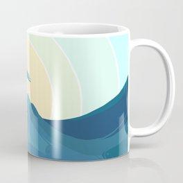 Surfin' the waves Coffee Mug