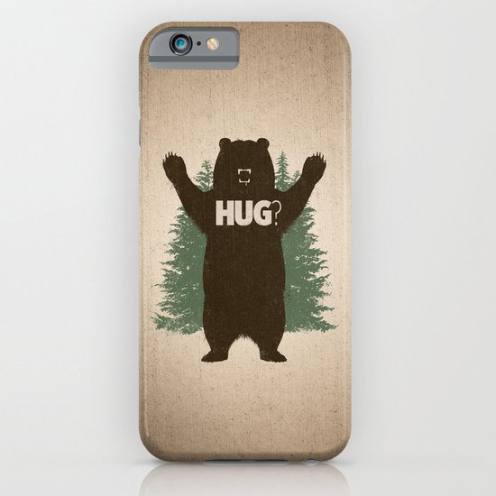 Bear Hug iPhone & iPod Case