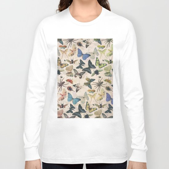 Insect Jungle Long Sleeve T-shirt