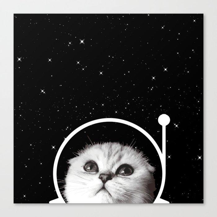 Thistle in Space Leinwanddruck