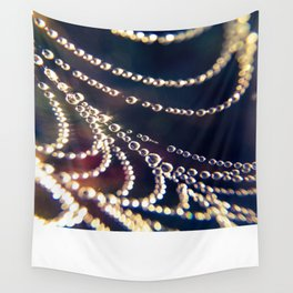 strung drops Wall Tapestry