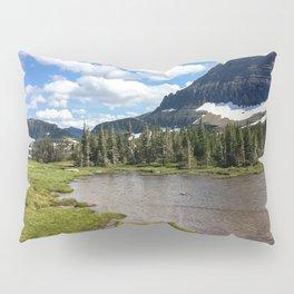 Mountain Bliss in Summer Pillow Sham