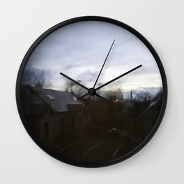 Dawn or Dusk Wall Clock