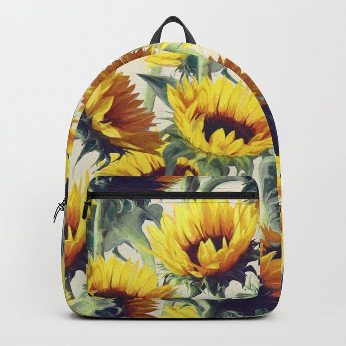 Sunflowers Forever Rucksack