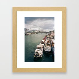 La Seine . Paris Framed Art Print